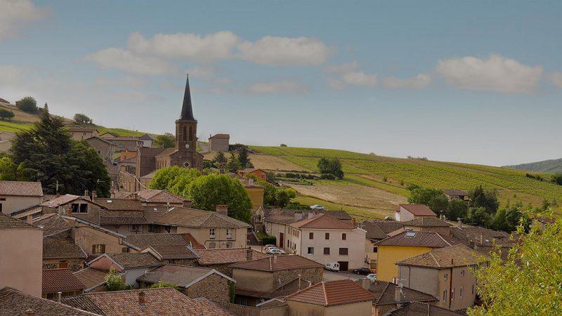 Le village de Jullié