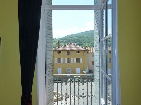 Gite2-vue depuis le balcon